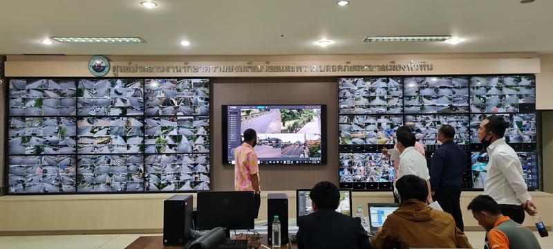 ทม.หัวหิน ติดCCTV 116จุดสร้างความปลอดภัยเมืองท่องเที่ยว